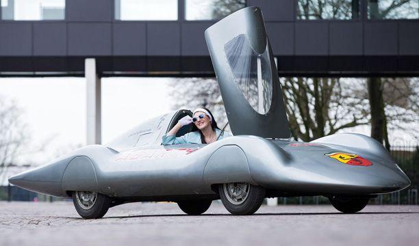 Kopio vuoden 1960 Fiat-Abarth 750/1000 Record Pininfarinasta.