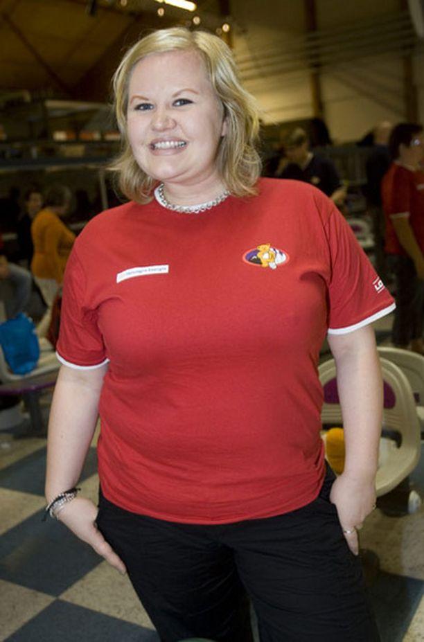 Lotta Backlund on toiminut myös juontajana radiossa ja tv:ssä.