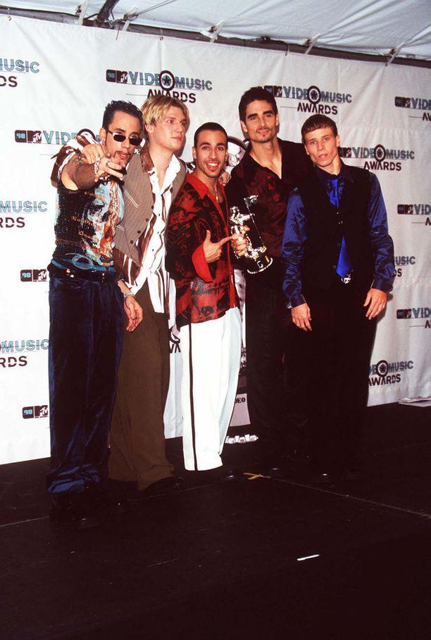 Backstreet Boys soi kaikkialla 90-luvun lopussa.