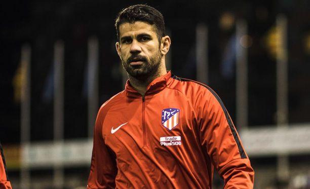 Diego Costa sai kokea aikaisen suihkukomennuksen paluuottelussaan Espanjan liigakentille.