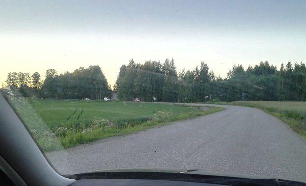 Sisä-Suomen poliisin mukaan Kangasalalla oli perjantaina käynnissä suuri poliisioperaatio.
