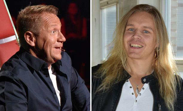 Olli ja Ilari löysivät yhteisen sävelen heti The Voice of Finlandin kuvausten alkumetreillä.