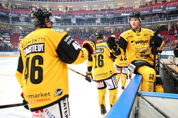 SaiPa nousi tasoihin ja voittoon kolmannessa erässä lauantaina.