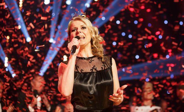 Susanna Heikki on Tangokuningatar 2015.