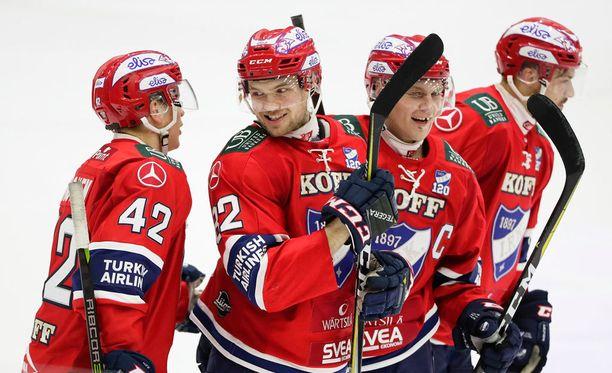 HIFK kairasi komean 5-2-voiton SaiPasta.