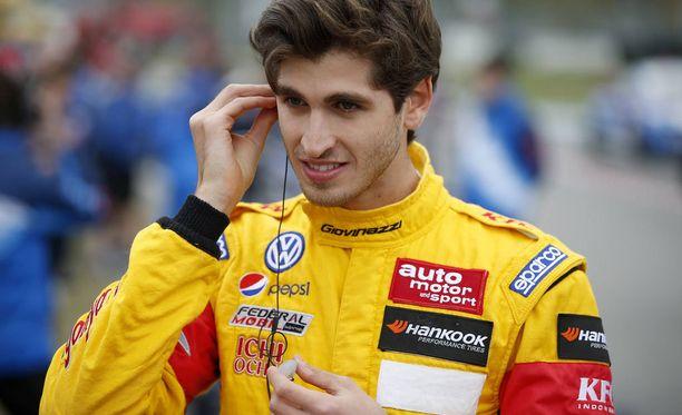 Antonio Giovinazzi on Ferrarin uusi kuskihankinta, kertoo Gazzetta.