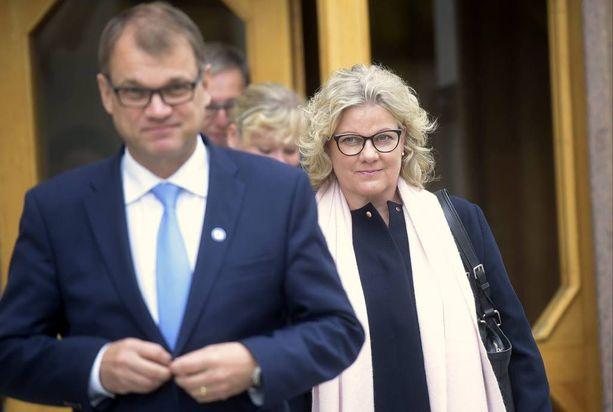 Juha ja Minna-Maaria Sipilä vierailivat tällä viikolla Ahvenanmaalla.