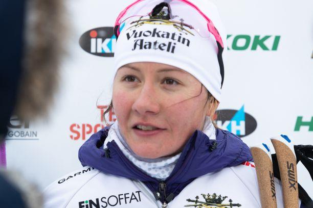 Katri Lylynperä oli karsinnassa paras suomalaisnainen.