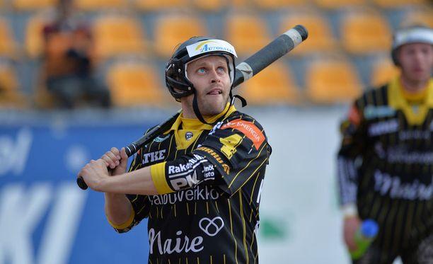 Matti Latvala oli iskussa Joensuuta vastaan.