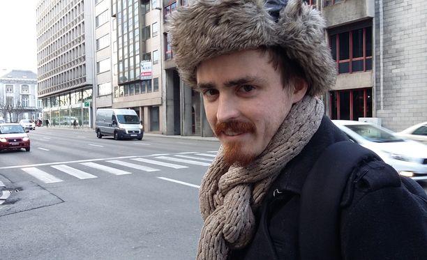Bruno Lunnoo asuu Leuvenissa, 30 kilometrin päässä Brysselistä. Räjähdysten vuoksi hänen toimistonsa siirtää työt Leuveniin joksikin aikaa.