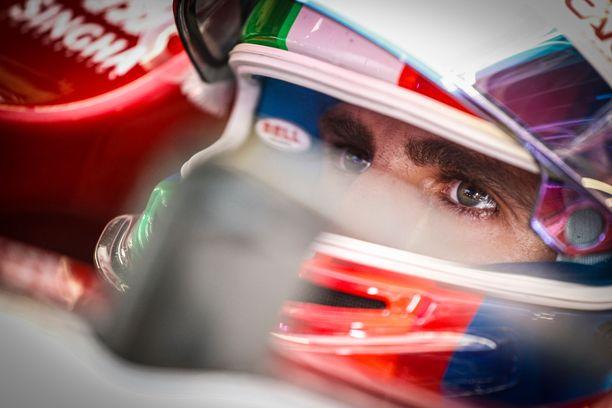 Antonio Giovinazzi on ajanut pisteille ainoastaan Itävallan GP:ssä.
