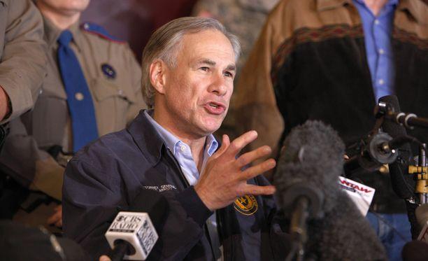 Kuvassa Teksasin kuvernööri Greg Abbott huhtikuussa 2013.