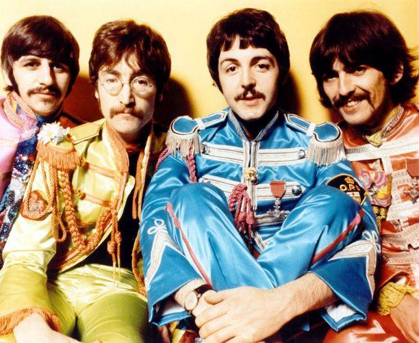 Ringo, John, Paul ja George 50 vuotta sitten.