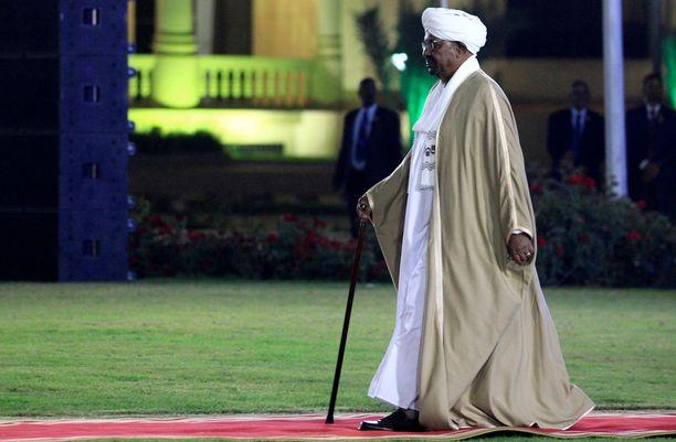 Omar al-Bashir on hallinnut Sudania vuodesta 1993.