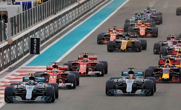 Tänne kaikki tähtäävät, oli luokka mikä hyvänsä. Uuden suomalaisen Formula Academy Finlandin on määrä luoda urapolkua kohti F1-sarjaa.
