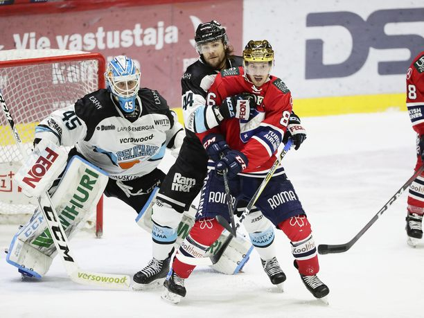 Erik Thorell on HIFK:n avainpelaajia Pelicansia vastaan.