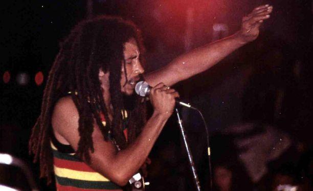 Bob Marley kuoli melanoomaan 36-vuotiaana.