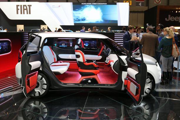 Fiat Pandan kokoluokkaan sijoittuva Centoventi on kuin legoauto - palikoita voi vaihdella mukaan lukien akkumoduulit.
