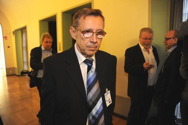 Oikeuskansleri Jaakko Jonkka kuuli jo alkuviikosta saavansa uudelleen kutsun kuultavaksi.