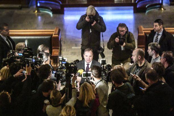 Stefan Löfven nousee Ruotsin pääministeriksi.