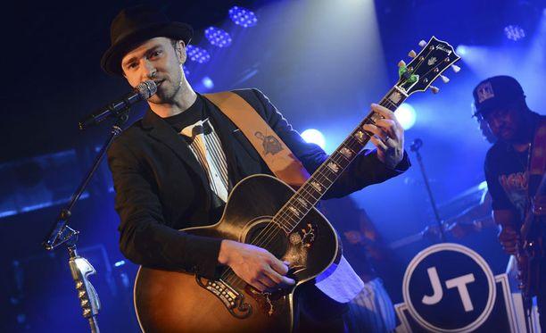 Justin Timberlake esiintyi SXSW-festivaaleilla Yhdysvaltain Austinissa maaliskuun puolivälissä.