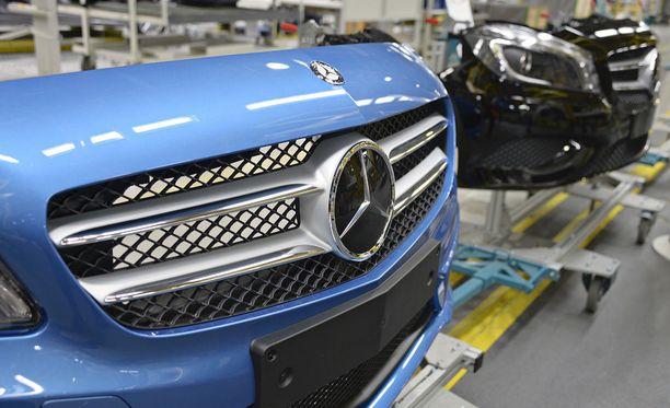 Mercedes-Benz GLC:n valmistus alkaa Uudessakaupungissa keväällä. Arkistokuva vuodelta 2013.