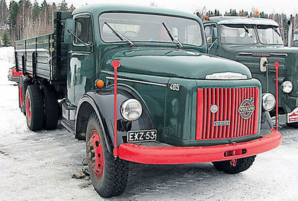 Volvo Viking 485 vuodelta 1964.