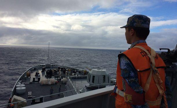 Malaysia Airlinesin lento MH370 katosi maaliskuussa, mukanaan 239 ihmistä.