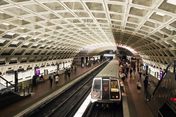 Yhdysvaltain pääkaupungin metrojärjestelmä tunnetaan näyttävistä asemistaan.