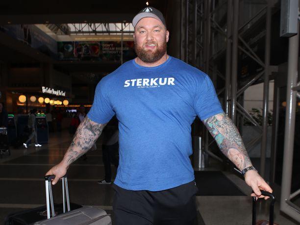 Hafthor Björnsson on paitsi maailman vahvin mies myös Game of Thrones -tähti.