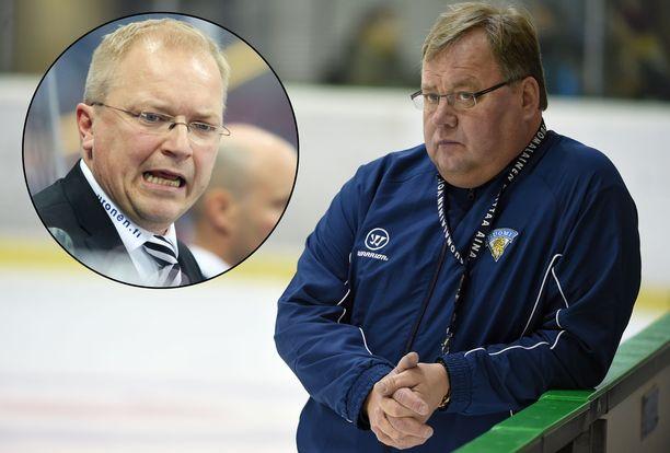 Hannu Jortikka kritisoi Kalle Kaskista.