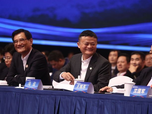 Alibaban perustajat vierailivat Kiinassa marraskuussa 2019