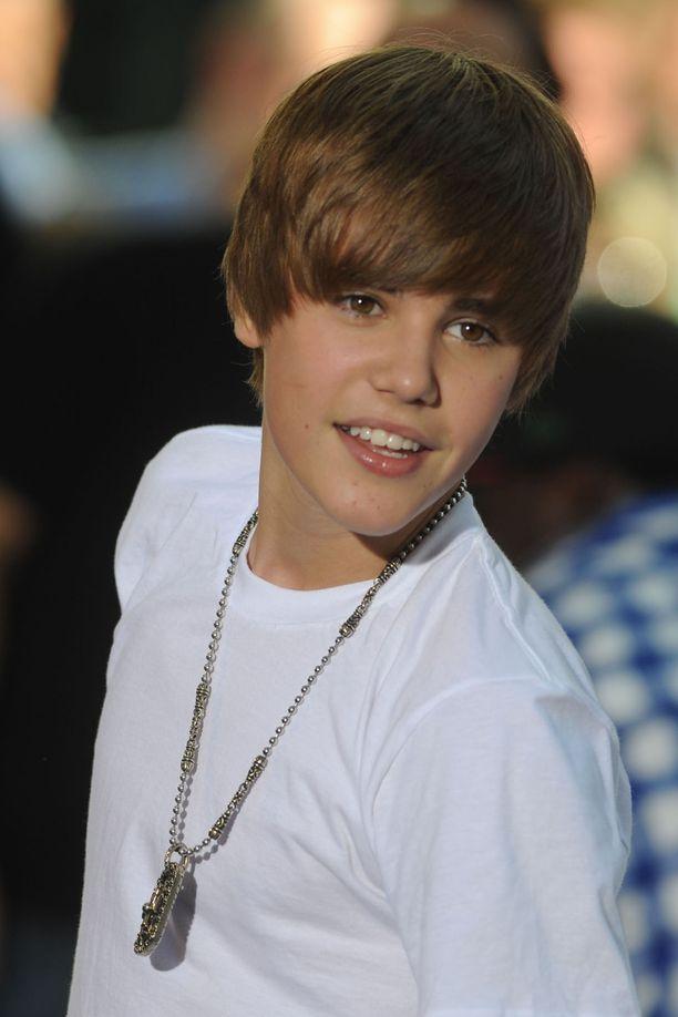 Tältä Justin Bieber näytti lyödessään läpi.