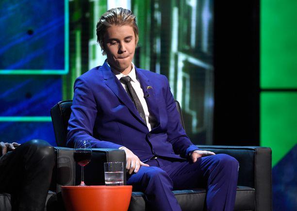 Justin Bieber on taas ongelmissa.