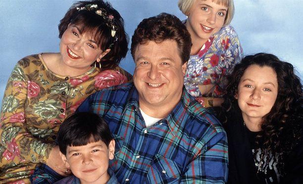 Roseannea esitettiin Suomessakin. Työväenluokkaisen perheen isää näytteli John Goodman.