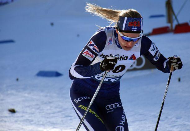 Anne Kyllönen keskeytti Tour de Skin flunssan oireiden vuoksi.
