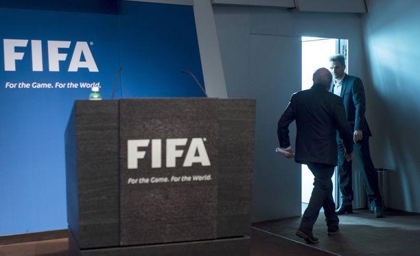 Sepp Blatter ilmoitti tiistaina jättävänsä Fifan puheenjohtajuuden.