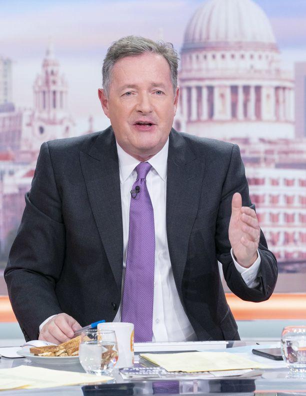 Piers Morgan ei sulata Meghanin puuhia.