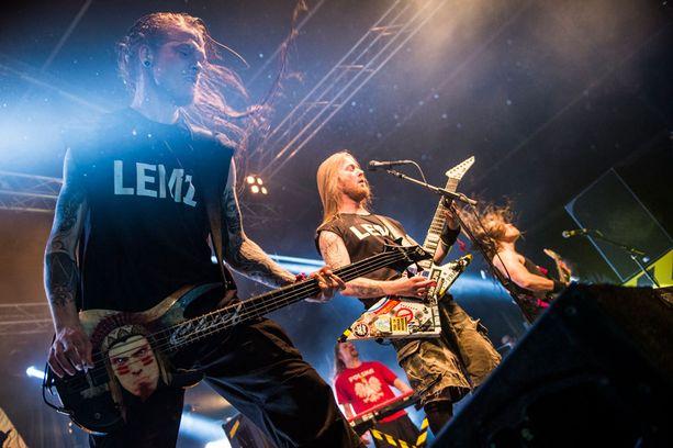 Metalliyhtye Stam1na on kotoisin Lemistä.