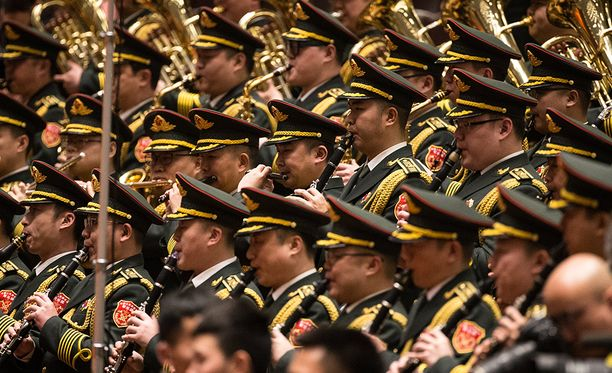 Kiinan armeija sai reilun indeksikorouksen.