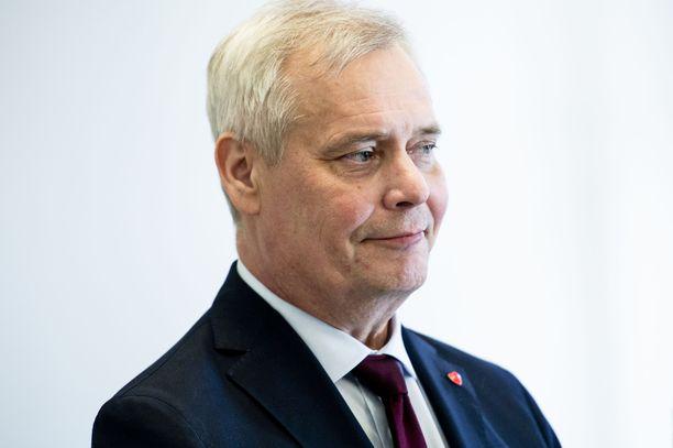 Antti Rinne tietää työmarkkinasyksyn haasteet.