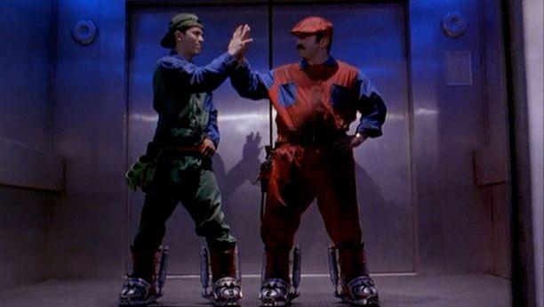 Super Mario Bros. -elokuva julkaistiin vuonna 1993.