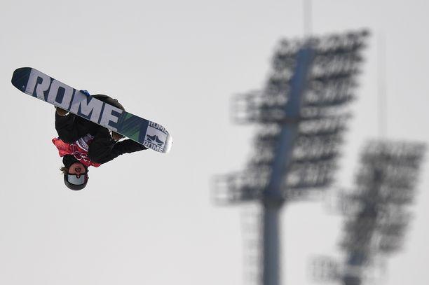Rene Rinnekangas nappasi hopeaa X Gamesissa Aspenissa.