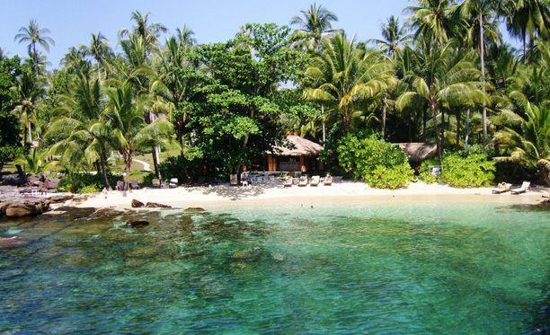 Turismi on vielä alkuvaiheessa Koh Kutin saarella, joka sijaitsee lähellä Kambodzhan rajaa.