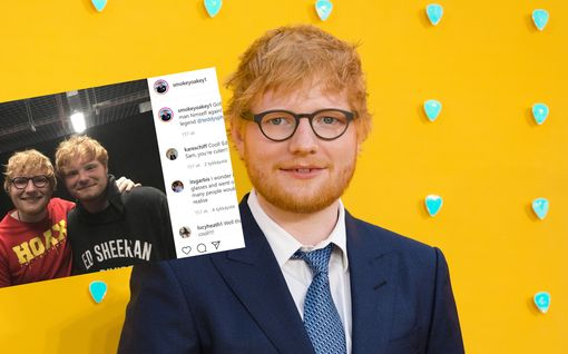 Brittinäyttelijän lapsenlapsi on kuin ilmetty Ed Sheeran – erotatko, kumpi on kumpi?