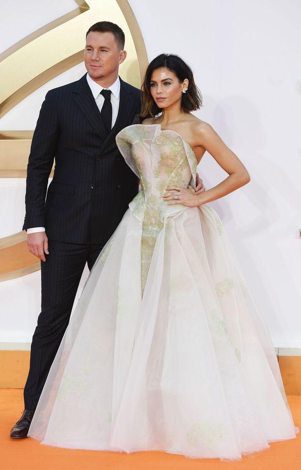 Channing Tatum erosi keväällä vaimostaan Jenna Dewanista.