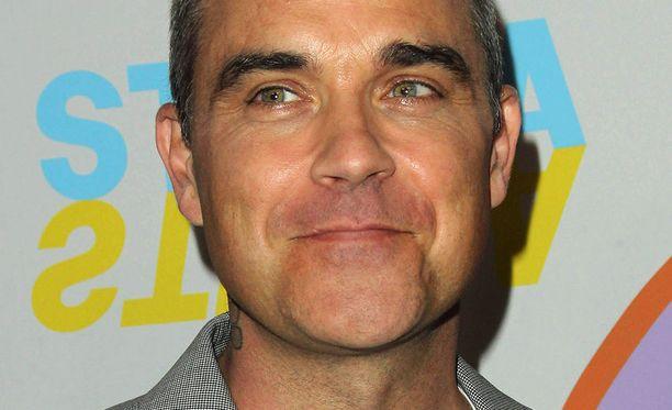 Robbie Williams on naimisissa Ayda Fieldin kanssa. Pariskunnalla on kaksi lasta.