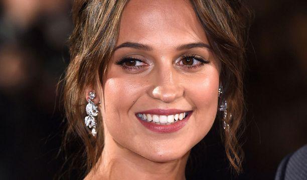 Alicia Vikander on tuttu muun muassa elokuvasta Tanskalainen tyttö.