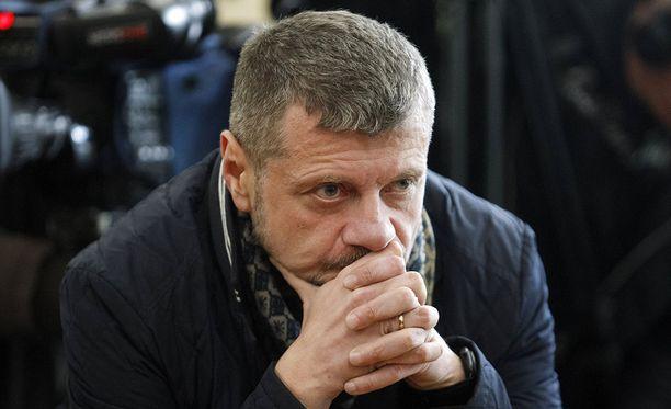 Igor Mositshukin radikaalipuolue tuki alunperin presidentti Petro Porošenkoa, mutta nykyään puolue on oppositiossa. Arkistokuva.