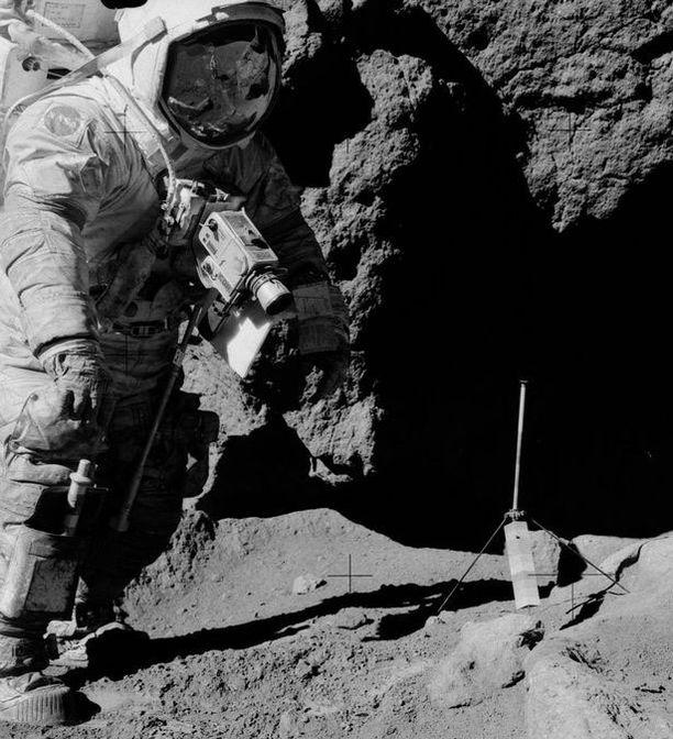 Apollo 17 oli viimeinen miehitetty kuulento.
